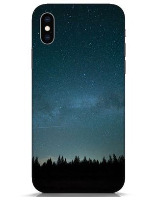 Shop Night Star iPhone XS Mobile Cover-Front