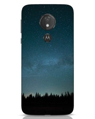 Shop Night Star Moto G7 Power Mobile Cover-Front