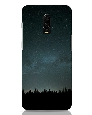 Shop Night Star OnePlus 6T Mobile Cover-Front