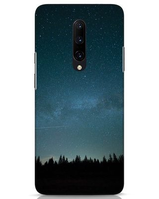Shop Night Star OnePlus 7 Pro Mobile Cover-Front
