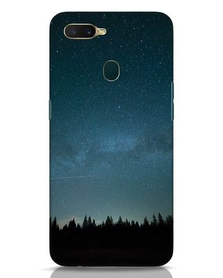 Shop Night Star Oppo A7 Mobile Cover-Front