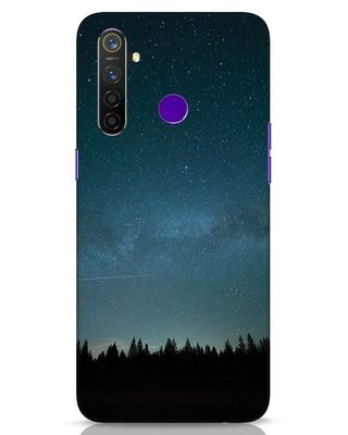 Shop Night Star Realme 5 Pro Mobile Cover-Front