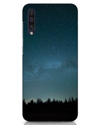 Shop Night Star Samsung Galaxy A50 Mobile Cover-Front