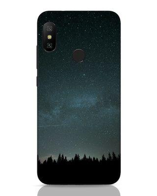 Shop Night Star Xiaomi Redmi 6 Pro Mobile Cover-Front