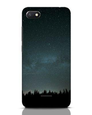 Shop Night Star Xiaomi Redmi 6A Mobile Cover-Front