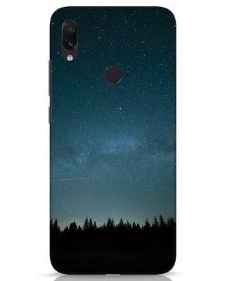 Shop Night Star Xiaomi Redmi Note 7s Mobile Cover-Front