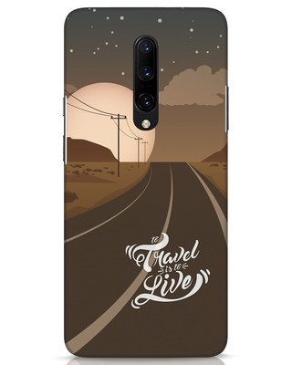 Shop Night Travel OnePlus 7 Pro Mobile Cover-Front