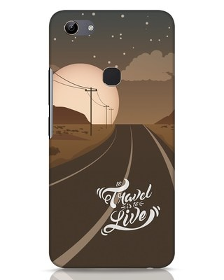 Shop Night Travel Vivo Y81 Mobile Cover-Front