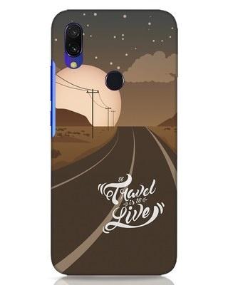 Shop Night Travel Xiaomi Redmi Y3 Mobile Cover-Front