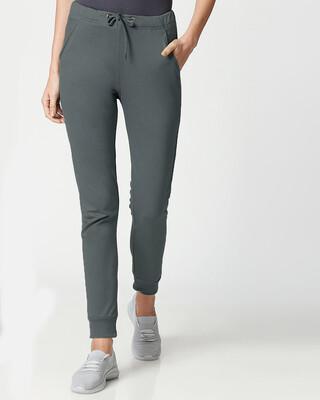 Shop Nimbus Grey Casual Jogger Pant-Front