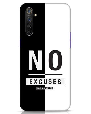 Shop No Excuses Stripe Realme 6 Mobile Cover-Front