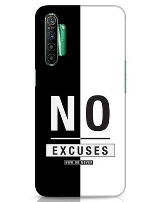 Shop No Excuses Stripe Realme X2 Mobile Cover-Front