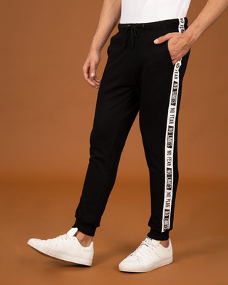 Shop No Fear No Limits Fleece Sports Trim Joggers-Front