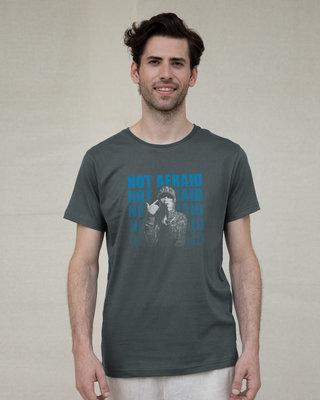 Shop Not Afraid Rap Half Sleeve T-Shirt-Front
