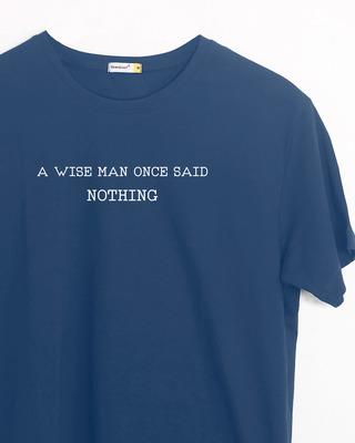 Buy Nothing Half Sleeve T-Shirt Online India @ Bewakoof.com