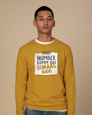 Shop Number Kamm Hai Sweatshirt-Front