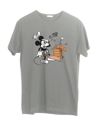 Shop O Teri Mickey Half Sleeve T-Shirt (DL)-Front
