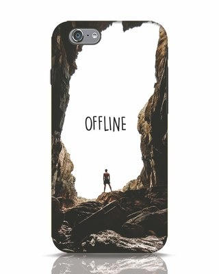 Shop Offline iPhone 6 Mobile Cover-Front