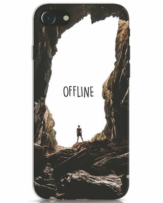 Shop Offline iPhone 7 Mobile Cover-Front