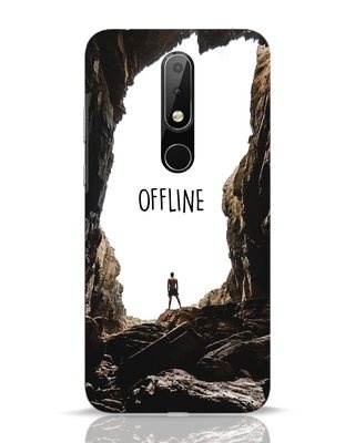 Shop Offline Nokia 6.1 Plus Mobile Cover-Front