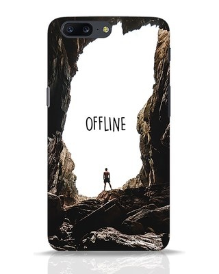 Shop Offline OnePlus 5 Mobile Cover-Front
