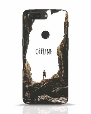 Shop Offline OnePlus 5T Mobile Cover-Front