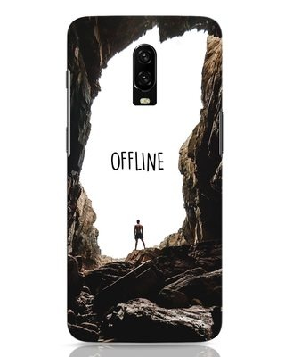 Shop Offline OnePlus 6T Mobile Cover-Front