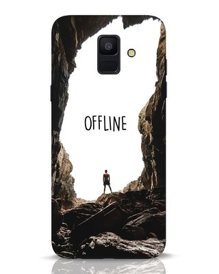 Shop Offline Samsung Galaxy A6 2018 Mobile Cover-Front