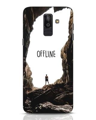 Shop Offline Samsung Galaxy J8 Mobile Cover-Front