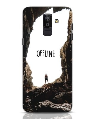 Shop Offline Samsung Galaxy J8 Mobile Cover-Front