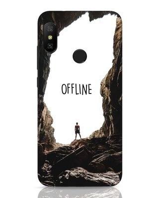 Shop Offline Xiaomi Redmi 6 Pro Mobile Cover-Front