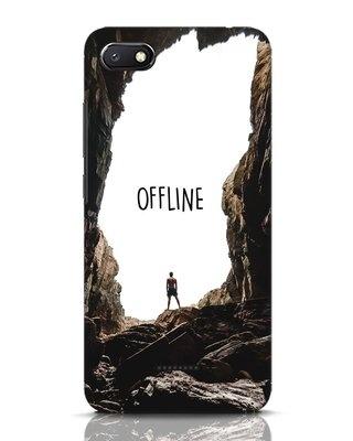 Shop Offline Xiaomi Redmi 6A Mobile Cover-Front