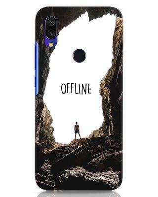Shop Offline Xiaomi Redmi 7 Mobile Cover-Front