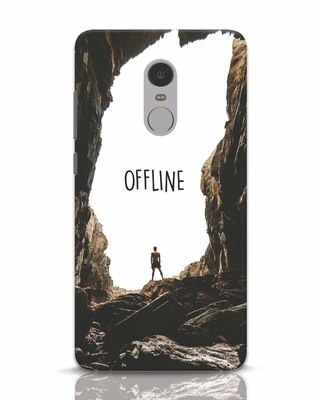 Shop Offline Xiaomi Redmi Note 4 Mobile Cover-Front