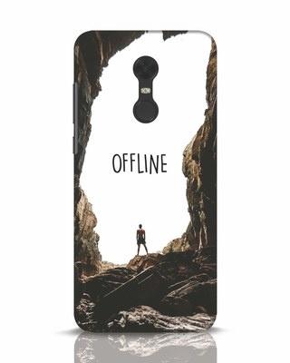 Shop Offline Xiaomi Redmi Note 5 Mobile Cover-Front