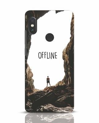 Shop Offline Xiaomi Redmi Note 5 Pro Mobile Cover-Front