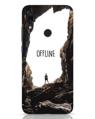 Shop Offline Xiaomi Redmi Note 7 Mobile Cover-Front