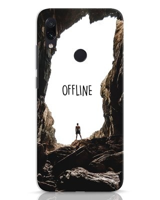 Shop Offline Xiaomi Redmi Note 7 Pro Mobile Cover-Front