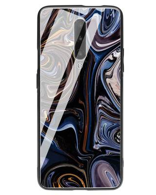 Shop Oil Paint Marable OnePlus 7 Pro Glass Mobile Cover-Front
