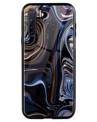 Shop Oil Paint Marable Oppo F15 Mobile Cover-Front