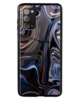 Shop Oil Paint Marable Samsung Galaxy Note 20 Mobile Cover-Front