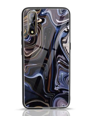 Shop Oil Paint Marable Vivo S1 Glass Mobile Cover-Front