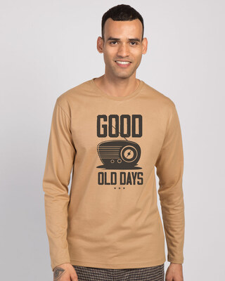 Shop Old Days Full Sleeve T-Shirt-Front