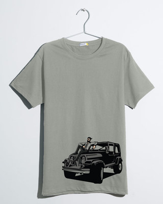 Shop On The Road Again Half Sleeve T-Shirt-Front