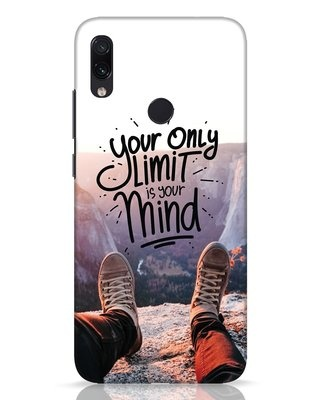 Shop Onlylimitismind Xiaomi Redmi Note 7 Pro Mobile Cover-Front
