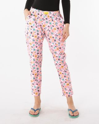 Shop Oops All Over Printed Pyjama-Front