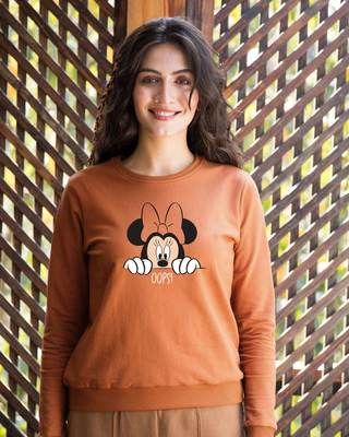 Shop Oops Minne Sweatshirt (DL)-Front