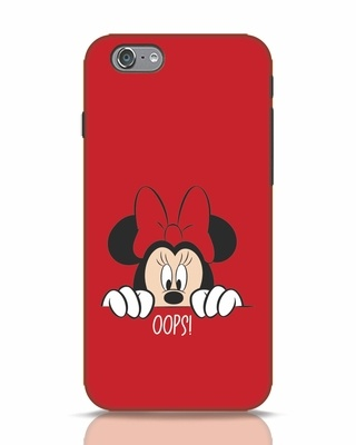 Shop Oops Minnie iPhone 6 Mobile Cover-Front