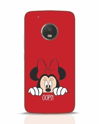 Shop Oops Minnie Moto G5 Plus Mobile Cover-Front