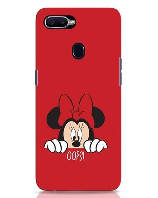 Shop Oops Minnie Oppo F9 Pro Mobile Cover-Front